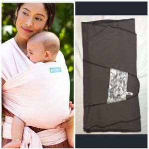 Gray Moby Infant Carrier in Almost New Condition
